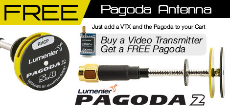 Free Pagoda with Transmitter
