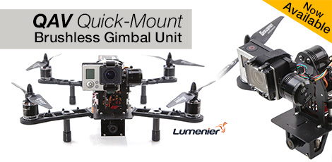 QAV Quick-Mount Gimbal
