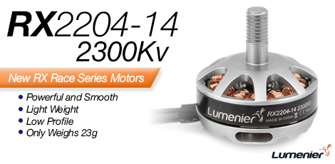 RX2204-14 2300Kv Motor