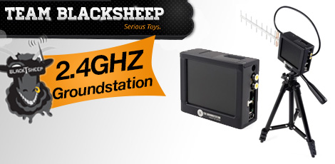 Team Black Sheep 2.4GHz GroundStation