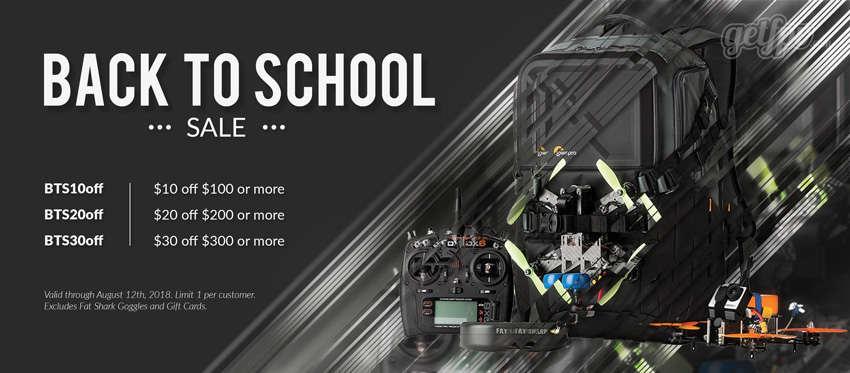 Back to School Drone Sale