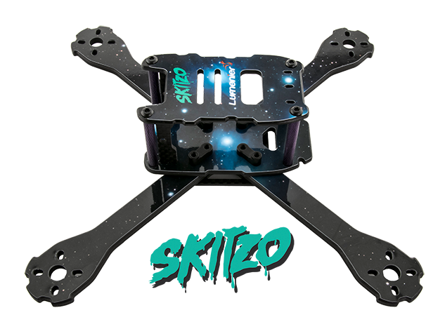 fpvcrazy QAV-SKITZO-Dark-Matter-FPV-Freestyle-Quadcopter-Side New Drone Racing Products in Market All Topics Dronebuilds DroneRacing GUIDE TO BUY DRONE