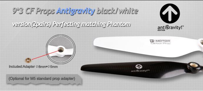 antiGravity props